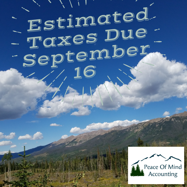 Approaching Tax Deadlines in September and October 2019