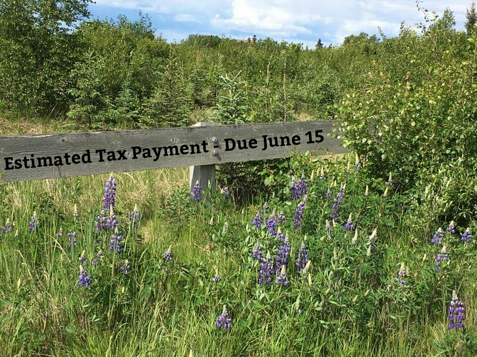 Estimated Tax Payment Due June 15