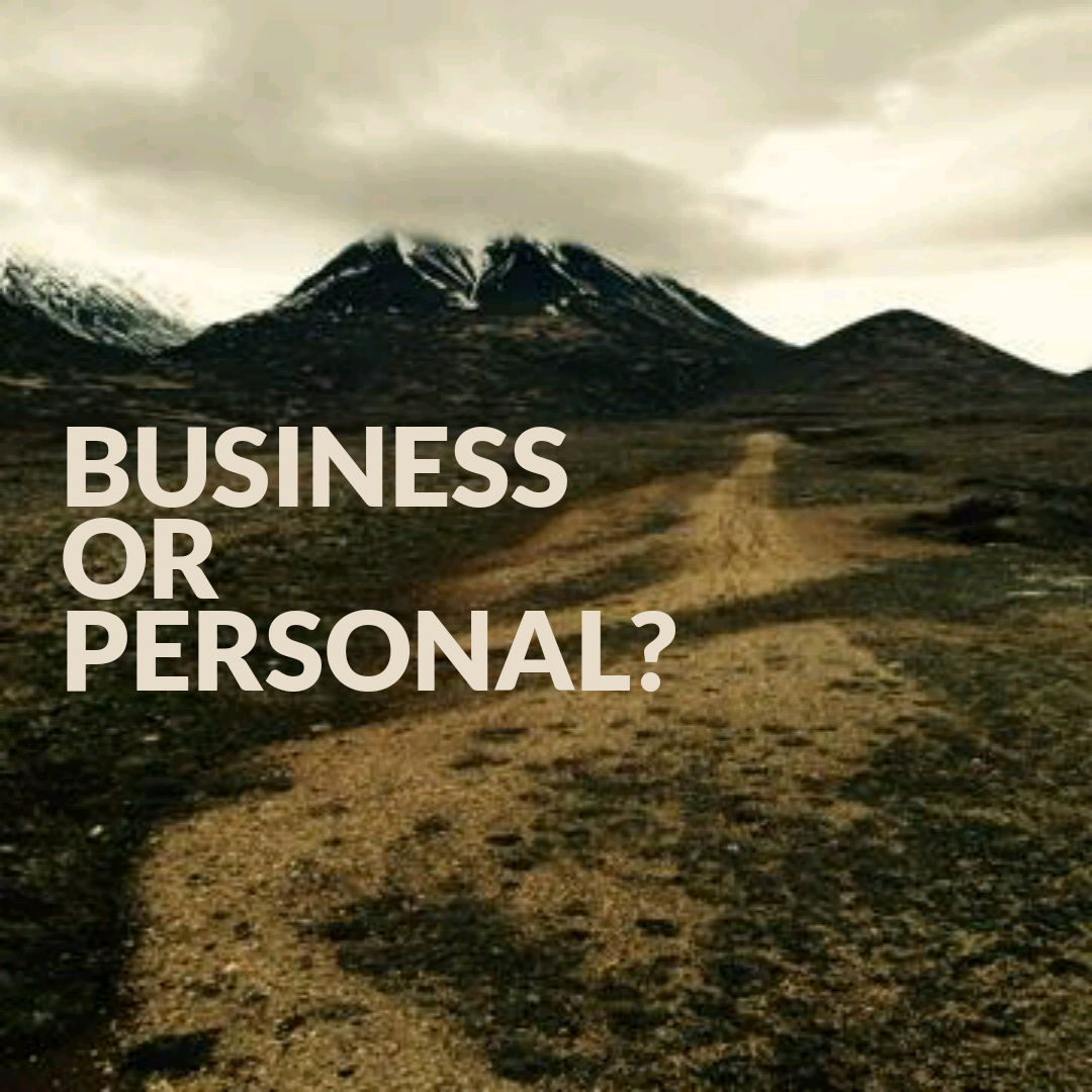 Personal or Business?